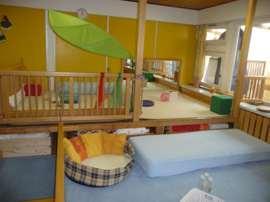 Krippe st dtische kindertagesst tte auf dem for Raumgestaltung kita